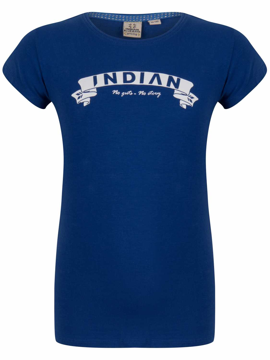 Indian Blue Jeans Shirt korte mouw